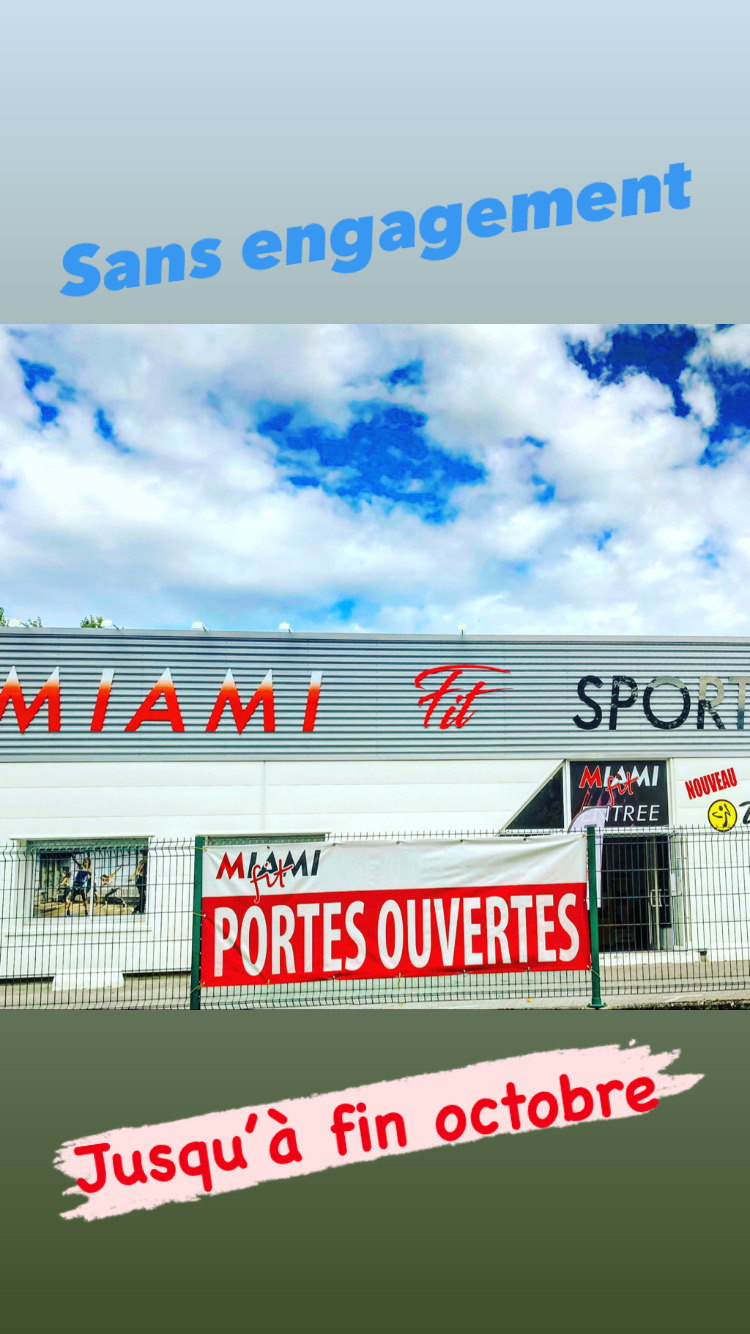 operation portes ouvertes Miami Fit à Verou (44120)